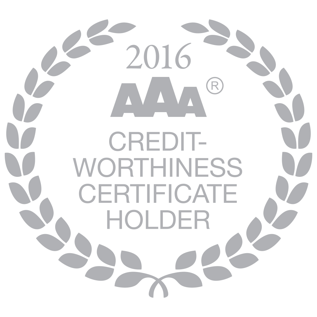 Certificate of creditworthiness