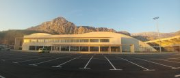 Ribnjak sports hall, Omiš