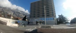 Construction of the underground garage and swimming pool complex of hotel Dalmacija, Makarska